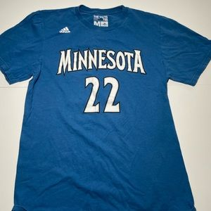Adidas NBA Minnesota Wiggins Jersey T Shirt Mens M